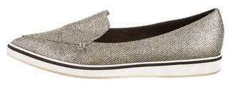 Nicholas Kirkwood Glitter Pointed-Toe Loafers