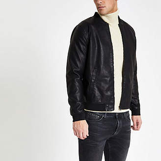River Island Only and Sons black bomber jacket