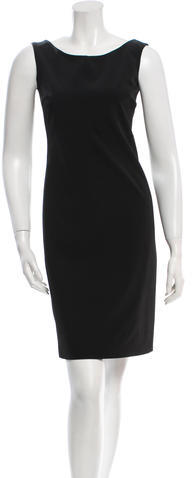 prada Prada Mini Sheath Dress