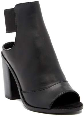 Dolce Vita Lauri Open Toe Leather Bootie