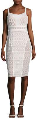 Tracy Reese Women's Sleeveless Lace Sheath Dress