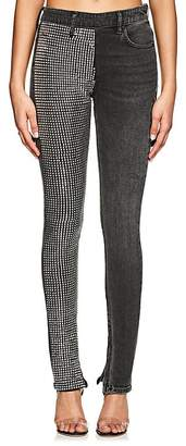 Alexander Wang Denim x Women's Studded Skinny Jeans