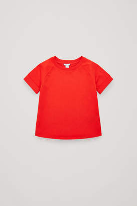 Cos RAGLAN-SLEEVED JERSEY T-SHIRT