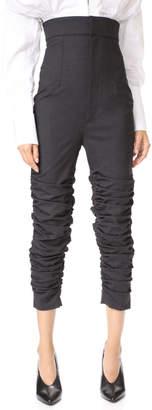 Jacquemus Ruched Pants $460 thestylecure.com