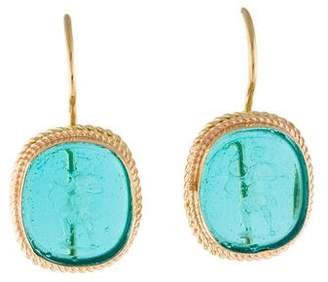 Tagliamonte 18K Venetian Intaglio Earrings