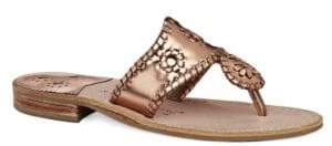 Jack Rogers West Hampton Leather Thong Sandals