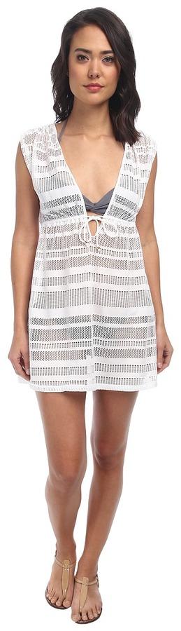 Lauren Ralph LaurenLAUREN Ralph Lauren Horizon Crochet Sleeveless Dress Cover-Up