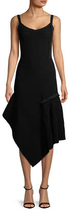 Jason Wu Daino Asymmetric Midi Dress