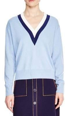 Sandro Nael V-Neck Sweater