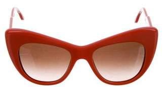 Stella McCartney Cat-Eye Oversize Sunglasses