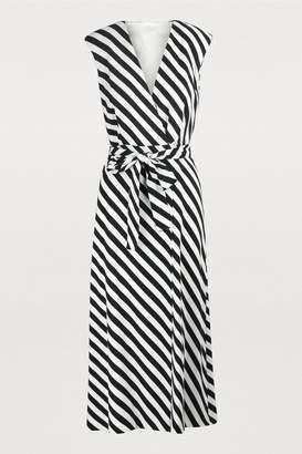 Dries Van Noten Wrap midi dress
