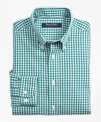 Brooks Brothers Boys Non-Iron Gingham Sport Shirt