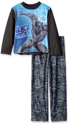 Marvel Boys' Big Black Panther 2-Piece Pajama Set