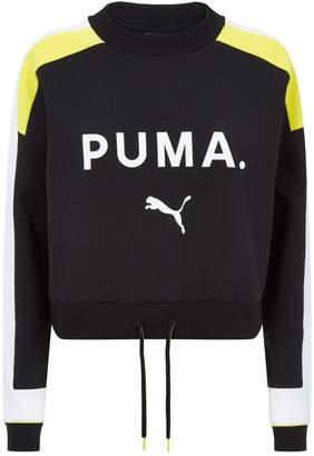 Puma Chase Drawstring Hem Sweatshirt