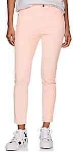 Current/Elliott Women's The High Waist Stiletto Corduroy Skinny Jeans-Pink