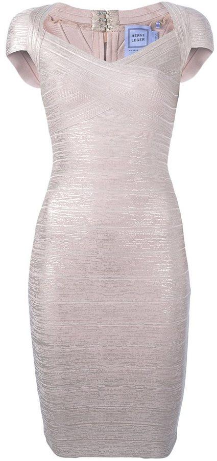 Herve Leger 'Tejana' dress
