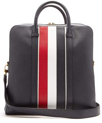 Thom Browne Tricolour leather bag