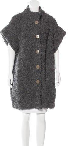 Chloé Chloé Textured Wool Coat