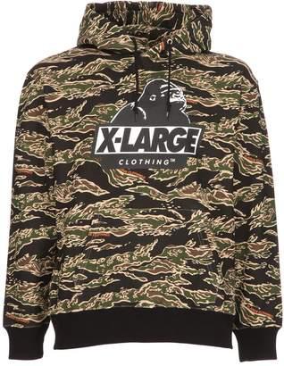 XLarge Tiger Camo Og Hooded Cotton Sweatshirt