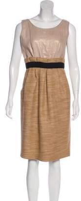Dolce & Gabbana Pleated Knee-Length Dress