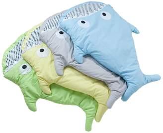 HOT SEAL® Shark Bites Baby Sleeping Bag Newborn Sacks Swaddling Blanket
