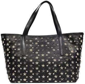 Jimmy Choo Handbag Sofia Bag In Leather With All-over Stars And Double Handles