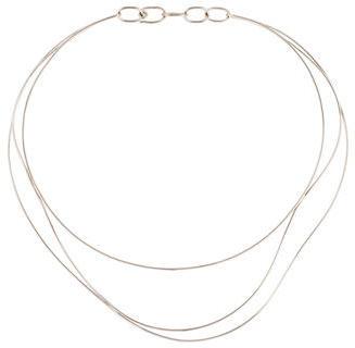 Tiffany & Co. Elsa Peretti Wave Necklace $2,395 thestylecure.com
