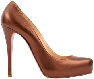 Christian Louboutin Bianca leather heels