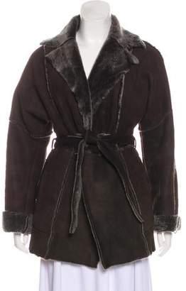 Barbara Bui Suede Short Coat