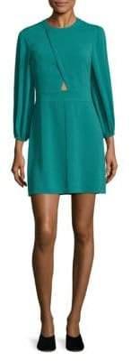 Tibi Cutout Crepe Dress