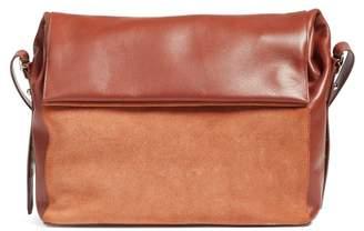 AllSaints Maya Calfskin Shoulder Bag