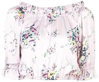 Jill Stuart Maia print blouse