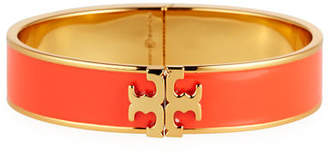 Tory Burch Enamel Logo Bangle Bracelet