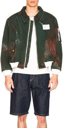 Gosha Rubchinskiy Tie Dye Bomber Jacket