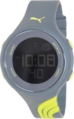 Puma Men's Twist PU911091004 Silicone Quartz Watch with Digital Dial