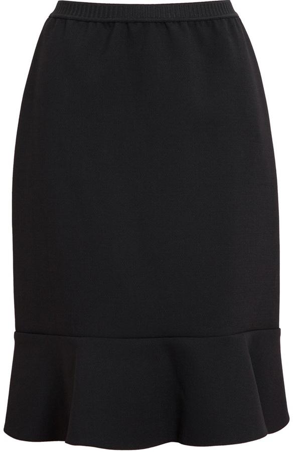 Marni Stretch Wool Pencil Skirt