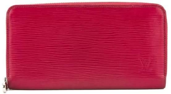 Louis VuittonLouis Vuitton Fuchsia Epi Leather Zippy Wallet (Pre Owned)