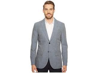 Perry Ellis Slim Fit End-on-End Linen Suit Jacket Men's Jacket