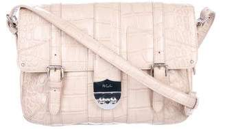 Lauren Ralph Lauren Embossed Leather Crossbody