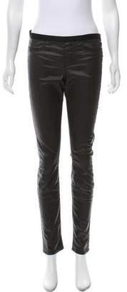 Helmut Lang Mid-Rise Skinny Pants