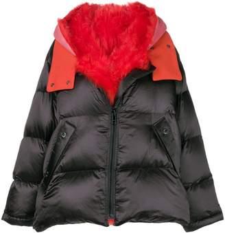 Yves Salomon Army oversized shearling jacket