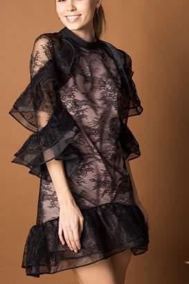 Nha Khanh Femenie Balck Lace