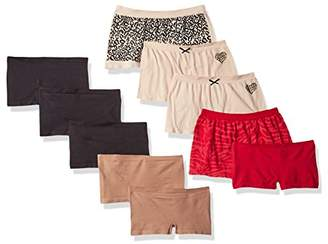 Barely There Women's 10-Pack Flex to Fit Boyshort $95 thestylecure.com