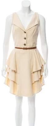 Zac Posen Z Spoke by Sleeveless Mini Dress