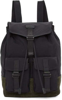 Rag & Bone Black Fleet Backpack
