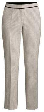 BOSS Teliviena Checker Ankle Trousers