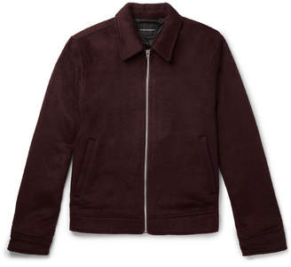 Club Monaco Brushed-Felt Jacket