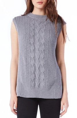 Women's Michael Stars Sleeveless Mock Neck Cable Knit Tunic $128 thestylecure.com