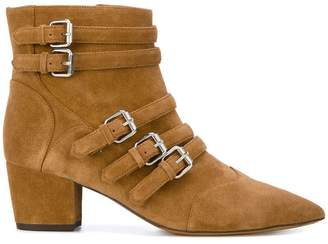 Tabitha Simmons strappy buckle boots