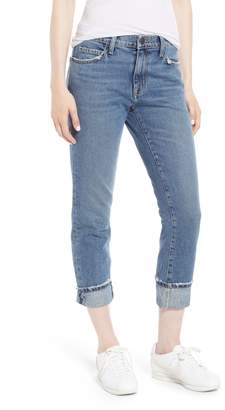 Current/Elliott The Fling Cuff Boyfriend Jeans